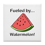 Fueled by Watermelon Tile Coaster