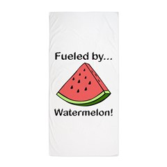 Fueled by Watermelon Beach Towel