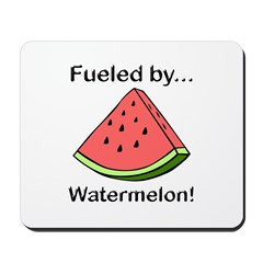 Fueled by Watermelon Mousepad