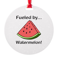 Fueled by Watermelon Ornament