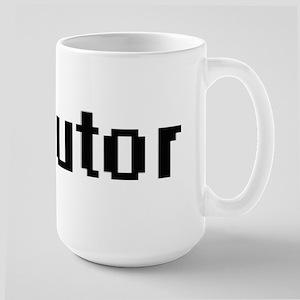 Tutor Retro Digital Job Design Mugs