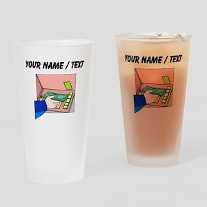 ATM Machine (Custom) Drinking Glass