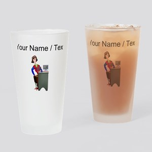 Accountant (Custom) Drinking Glass