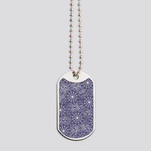 Blue Lace Dog Tags
