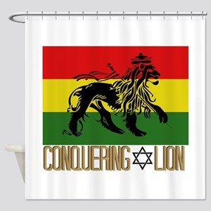 Conquering Lion Shower Curtain