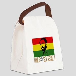 Haile Selassie I Canvas Lunch Bag