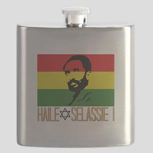 Haile Selassie I Flask
