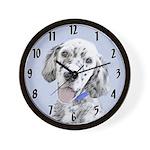 English Setter (Blue Belton) Wall Clock