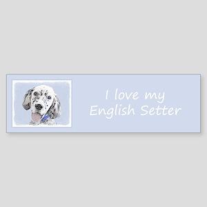 English Setter (Blue Belton) Sticker (Bumper)