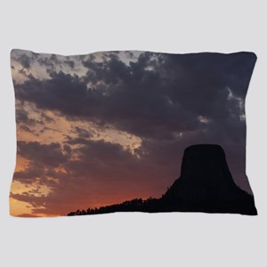 Towering Sunset Pillow Case