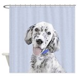 English Setter (Blue Belton) Shower Curtain