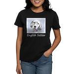 English Setter (Blue Belton) Women's Dark T-Shirt