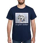 English Setter (Blue Belton) Dark T-Shirt