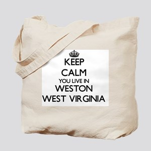Keep calm you live in Weston West Virgini Tote Bag