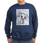 English Setter (Blue Belton) Sweatshirt (dark)