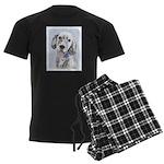 English Setter (Blue Belton) Men's Dark Pajamas