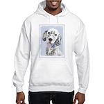English Setter (Blue Belton) Hooded Sweatshirt