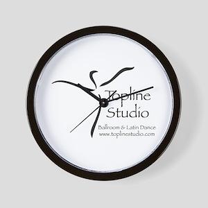 Topline Logo Wall Clock