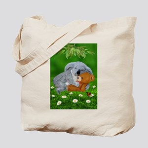 NAPTIME WITH TEDDY BEAR Tote Bag