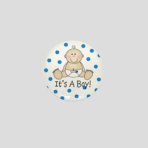 It's a Boy Baby Mini Button