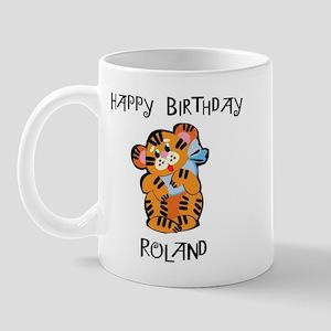 Happy Birthday Roland (tiger) Mug