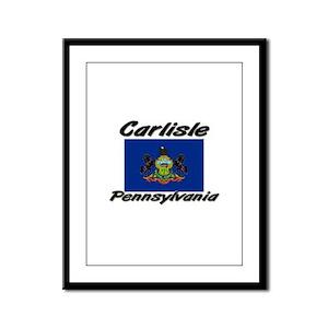 Carlisle Pennsylvania Framed Panel Print