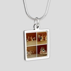 Giraffe Collage Necklaces