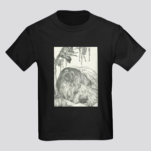 Pekingese, Orchids and Cockatiels T-Shirt