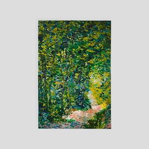 Van Gogh Path In The Woods 4' X 6' Rug
