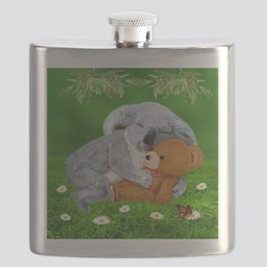NAPTIME WITH TEDDY BEAR Flask