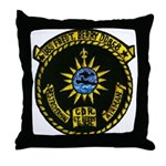 USS FRED T. BERRY Throw Pillow