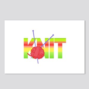 LARGE KNIT Postcards (Package of 8)