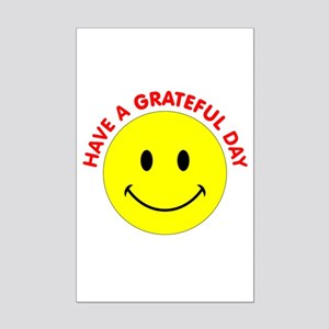 Grateful Day Mini Poster Print