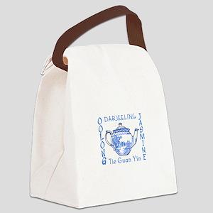 ASIAN TEAS Canvas Lunch Bag