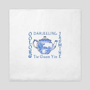 ASIAN TEAS Queen Duvet