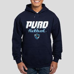 Puro Futbol Navy Hoodie (dark)