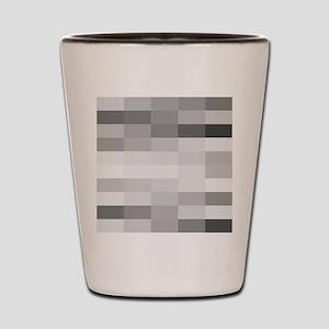 shades of gray Shot Glass