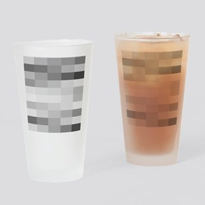 shades of gray Drinking Glass