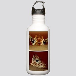 Giraffe Collage Stainless Water Bottle 1.0L