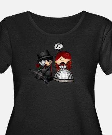 The Phantom Of The Opera Plus Size T-Shirt