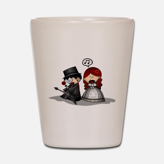 The Phantom Of The Opera Shot Glass