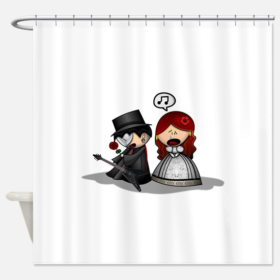 The Phantom Of The Opera Shower Curtain
