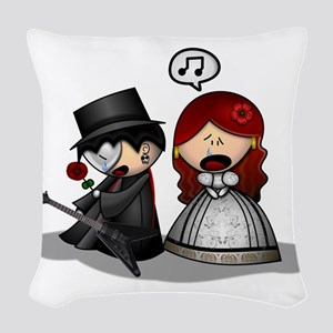 The Phantom Of The Opera Woven Throw Pillow