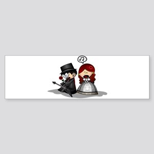 The Phantom Of The Opera Bumper Sticker