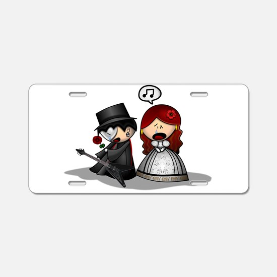 The Phantom Of The Opera Aluminum License Plate