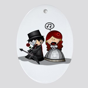 The Phantom Of The Opera Ornament (Oval)