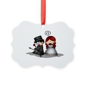 Phantom Opera Ornaments - CafePress