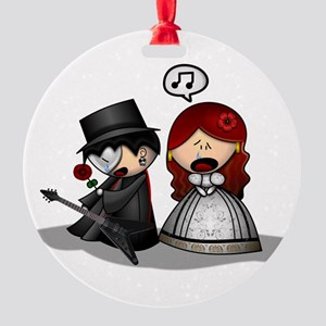 The Phantom Of The Opera Round Ornament