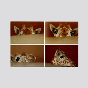 Giraffe Collage Magnets