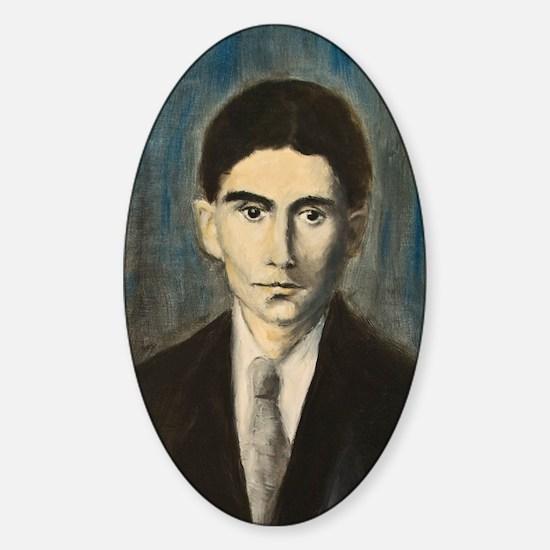 Franz Kafka Sticker (Oval)